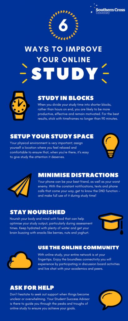 ways to improve your study online
