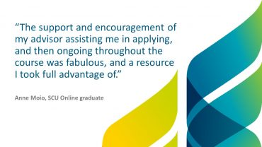 See what Anne Moio said about her Student Success Advisor