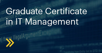 Graduate Certificate in IT Management Course
