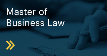 Master of Business Law Course